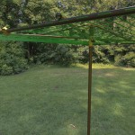 Strong outdoor clothesline